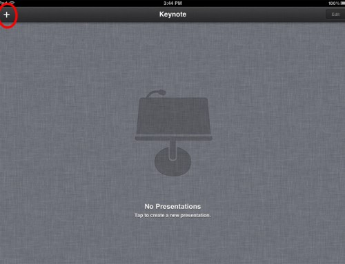 10 steps to get your Apple Keynote presentation onto your iPad