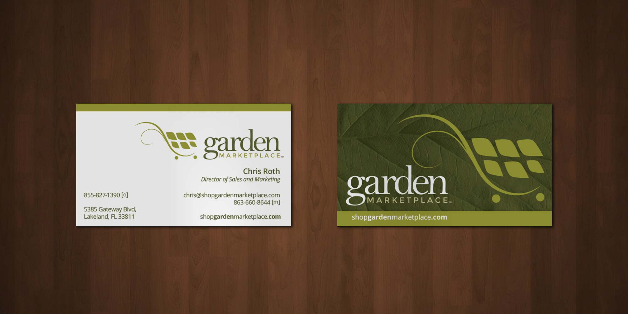 Garden Marketplace Logo – ottocreate.com