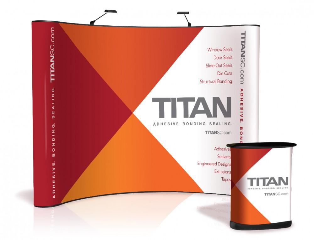 TITAN: refreshed brand identity