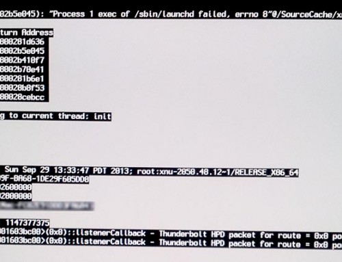 One little kernel can cause a lot of panic