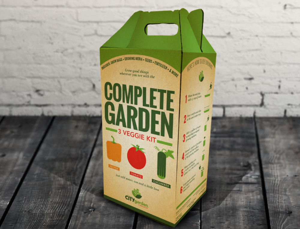 City Garden Complete Garden Kit Packaging